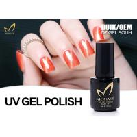 Quality Colors Varnish Cat Eye Gel Nail Polish Bling Nail Gel For Tips 1 - 2 Mins Cure Time for sale