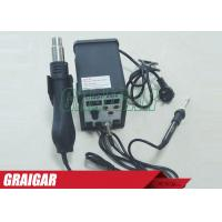 Quality SAIKE 898D 2 in 1 Soldering Station Hot Air Gun + Welding Iron 220V 110V SAIKE898D Solder Iron for sale