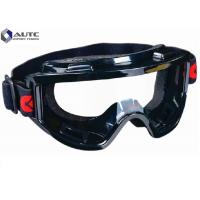 Quality Industrial Work Cool Safety Glasses High Impact Polycarbonate Lens With Strap for sale