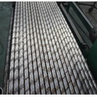 Rust Prevention Perforated Steel Pipe , Custom Length ASTM GB Perforated Metal Pipe