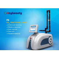 Quality Portable F5 Co2 Fractional Laser Machine For Scar / Wrinkle Removal 10600nm for sale