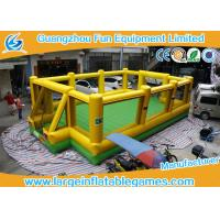 Quality Inflatable Soap Football Field Soccer Football Field Big Outdoor Sport Games for sale
