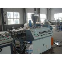 Quality Door Frame Plastic Extrusion Machinery , High Efficiency PVC Profile Extruder Plastic Extrusion Lines for sale