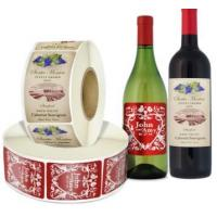 Quality Glass Bottles Food Packaging Labels With Multi color Screen Printing for sale