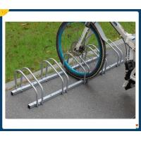 China Imported Q325 Carton Steel Unique Assembly Slot Bike Rack  Bicycle Rack, Electric Bicycle Stand Rack on sale
