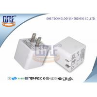 Quality Ultrasonic Thin Folding Pin Universal USB Power Adapter AC TO DC 2.4A US Standard for sale