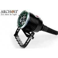 China Waterproof 150meters Canister Dive Light , Aluminum Alloy Scuba Diving Lamps on sale