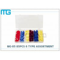 Quality 6 Types Terminal Assortment Kit MG - 85 85 Pcs For Machinery / Spinning CE Approval for sale