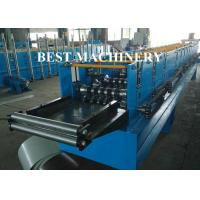 Buy Classic Glazed Roof Ridge Cap Roll Forming Machine Rain Gutter 5.5mx1mx1.4m at wholesale prices
