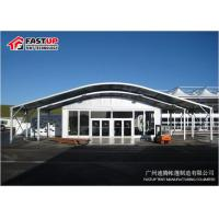 Aluminum Frame Clear Span Tent Arcum Tent For Exhibition Temporary Fabric Structures for sale