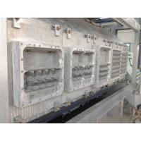 Quality High Precision Pulp Egg Box Making MachineInsulation With Servo Motor Control for sale