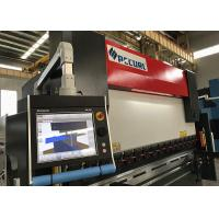 Buy Steel Plate 7 Axis 400 Ton 6000 MM CNC Press Brake Bending Machine With CE and CQC at wholesale prices
