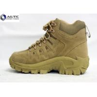 Quality Anti Slip Military Tactical Shoes Mid Calf Sports Hiking Weather Resistant for sale