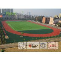 Quality Static Free EPDM Rubber Flooring Carbon Structure No Heavy Metal For Sports Ground for sale