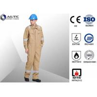 Quality Lightweight Site PPE Safety Wear Clothing , Work PPE Clothing FR Cotton Flame Retardant for sale