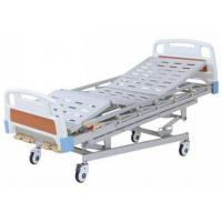 Quality Multi Function Manual Hospital Bed With 4 Cranks For Adults for sale