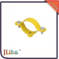 Quality Custom Hex Nut Cast Iron Pipe Clamps M8 Welding Clamp Yellow Coating for sale