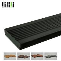 Quality Bamboo Deck Tiles 1220 Kg/M³ 18mm High Density With Charcoal Surface Treatment for sale