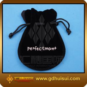 Quality black velvet bag jewelry for sale