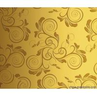 Quality Ti - Golden Stainless Steel Sheet Stainless Steel Backsplash Sheet For Wall Panel for sale