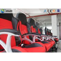 Quality Interactive Motion Theater Chair 4d Cinema Seating With High-Ene Pu for sale