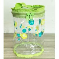 Buy Non-toxic Round PVC Baby Toys / Clothes Organizer Pouch for Promotional Dispaly at wholesale prices