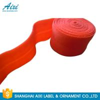 Quality Decorative Coloured Fold Over 10 - 30mm Elastic Binding Tape For Underwear for sale