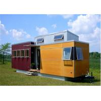 China Shipping Camp Prefab Container , insulated shipping containers on sale