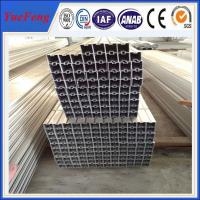 Quality wholesale greenhouse aluminum profile, 6063 T6 aluminum extrusion curtain wall profile for sale