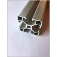 Quality Customized Industrial Structural Aluminum Profiles With Silvery Andized Surface for sale