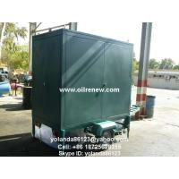 Quality Mobile Insulation Oil Purifier/ Oil Decolorization/Oil Purification and Filtration Machine for sale