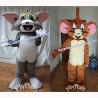 Quality Popular cartoon mascot costume tom and jerry mascot costumes for sale