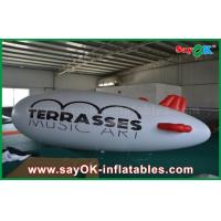 Quality 0.2mm PVC Custom Logo Inflatable Helium Balloon 5m Helium Zeppelin Air Plane for sale