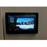 Quality 7 Inch Intercom Touch Panel Screen With POE, Inwall Mount Bracket for sale