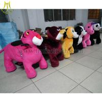 Quality Hansel Wholesale stuffed animal ride electronic coin toys happy rides on animal for sale