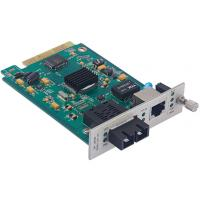 Quality SNMP Manageable Fiber Optic Network Card 10/100/1000Base-TX to 1000Base-FX 1*9 for sale