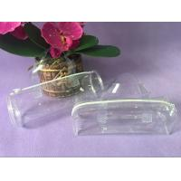 Clear Handle PVC Packing Bag , Plastic Toy Round PVC Gift Bags