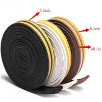 China Garage Door Seal Weather Strip Adhesive Rubber Tape Window Sliding Bottom Foam Silicone on sale