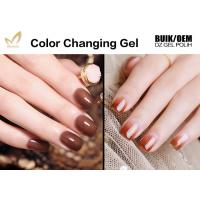 Quality No Layering Thermal Color Changing Nail Polish , Healthy Mood Nail Polish Gel for sale