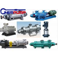 Quality DG 85-67 Multistage High Pressure Pumps single-suction / boiler water feed pump for sale