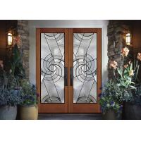 Buy cheap Double Pane Sliding Glass DoorHollow Stained Glass Panels Air / Argon Insulating from wholesalers