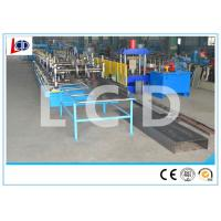 Gear Driven Cable Tray Roll Forming Machine 350H Steel Frame 15m / Min Forming Speed