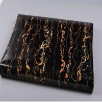 China 0.14Mm-0.18Mm Thickness Marble Effect Film Waterproof Marble Stone Texture Effect Wallpaper on sale
