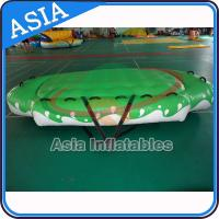 Quality 3.3m X 2.1m Digital Printing UFO Inflatable Water Boat Customized Color for sale
