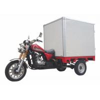 Quality Cabin Closed Box Motorized Cargo Trike Optional Color 200cc 250cc 150cc Motorcycle for sale