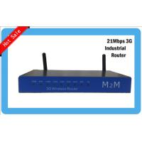Quality Cellular 3G LTE CPE industrial wifi router with sim card slot , LAN ports and RJ11 port for sale