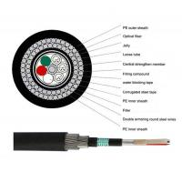 Quality 2-144C GYTA33 Underwater Outdoor Fiber Optic Cable With Steel Armored for Submarine for sale