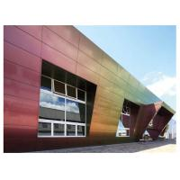 Quality Fireproof 4mm 5mm Sandwich Aluminium Composite Panel Cladding For Curtain wall for sale