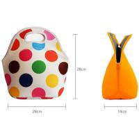 Quality 30cm*30cm*16cm Size and Food UseType Neoprene Lunch Tote bag for adult. for sale