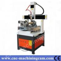 Quality Mach3 4th axies metal cnc router ZK-6060(600*600*350mm) for sale